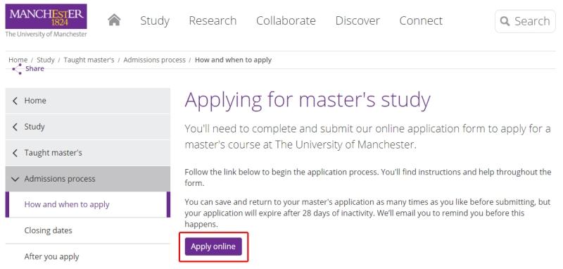 Apply Online Inggris