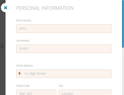 CV Europass 2 - Personal Information.